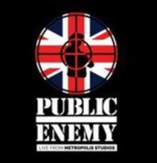 CD Live from Metropolis Studios Public Enemy