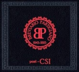 Breviario partigiano - CD Audio + DVD di Post-CSI