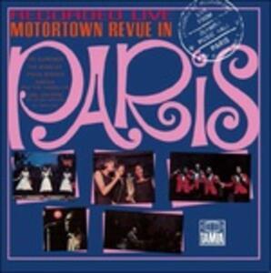 Motortown Revue. Live in Paris 1965 - Vinile LP
