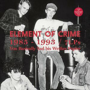 1985 - 1993 - Vinile LP di Element of Crime