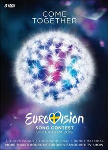 Eurovision Song Contest. Stockholm 2016 (3 DVD) - DVD