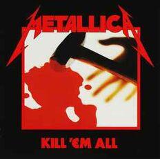 CD Kill 'em All Metallica