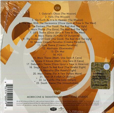Morricone 60 (Colonna sonora) (Deluxe Edition) - CD Audio + DVD di Ennio Morricone - 2