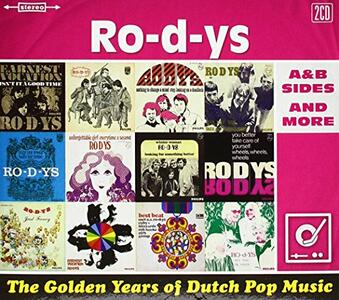 The Golden Years of Dutch Pop Music - CD Audio di Ro-D-Ys