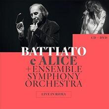 Live in Roma - CD Audio + DVD di Alice,Franco Battiato