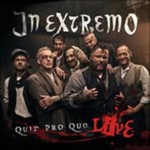 Quid Pro Quo Live - CD Audio di In Extremo