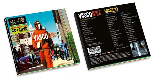 Buoni o cattivi - Buoni o cattivi Live Anthology vols. 1 & 2 - CD Audio + DVD di Vasco Rossi