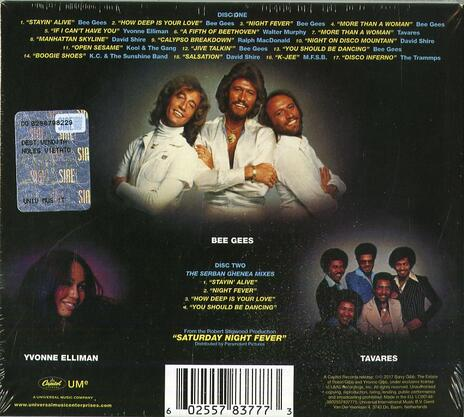 Saturday Night Fever (Colonna sonora) (Deluxe Edition) - CD Audio di Bee Gees - 2