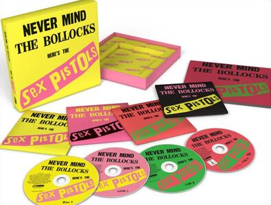 Never Mind the Bollocks - CD Audio + DVD di Sex Pistols