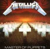 CD Master of Puppets Metallica