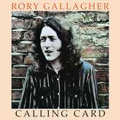 CD Calling Card Rory Gallagher