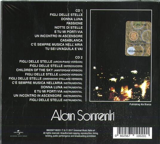 Figli delle stelle (40th Anniversary Edition) - CD Audio di Alan Sorrenti - 2