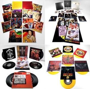 Locked n' Loaded (Box Set Limited Edition) - Vinile LP + CD Audio + Blu-ray Audio di Guns N' Roses - 4