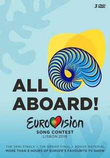 All Aboard! Eurovision Song Contest 2018 (3 DVD) - DVD