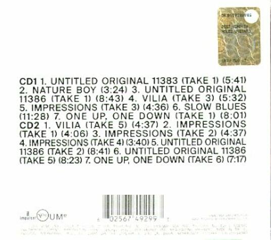 Both Directions at Once. The Lost Album (Deluxe Edition) - CD Audio di John Coltrane - 2