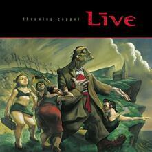 Throwing Copper (25th Anniversary Edition) - CD Audio di Live