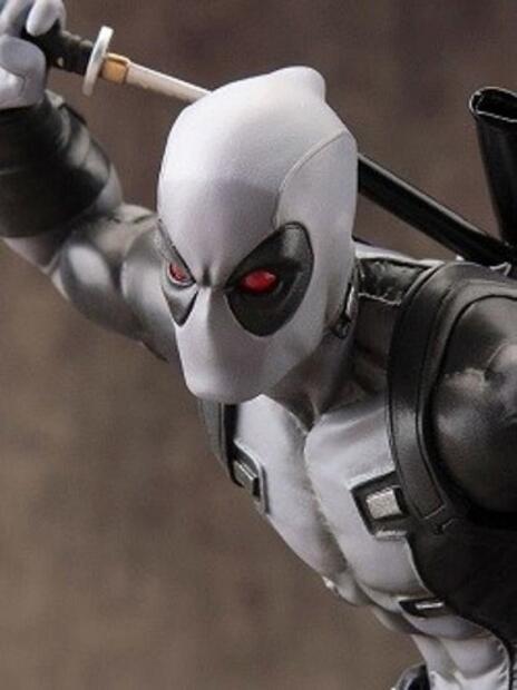 Artfx X Men Marvel Now Deadpool X Force Grey Pvc Statue New!!