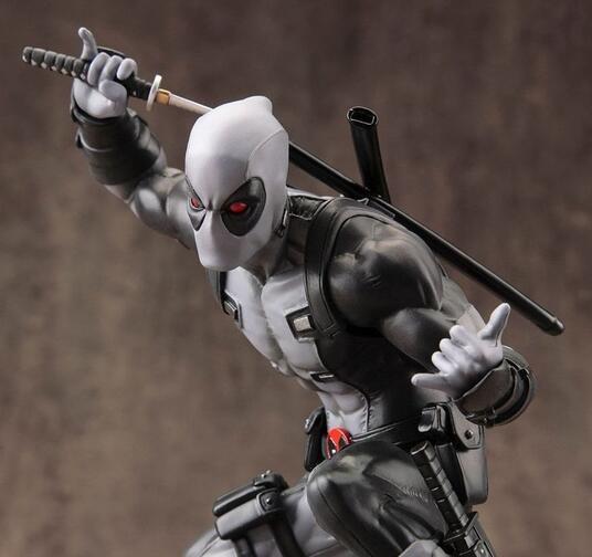 Artfx X Men Marvel Now Deadpool X Force Grey Pvc Statue New!! - 3