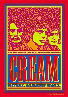 Cream. Royal Albert Hall. 2,3,5,6 May 2005 (2 DVD) - DVD