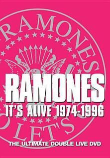 Ramones. It's Alive 1974-1996 - DVD