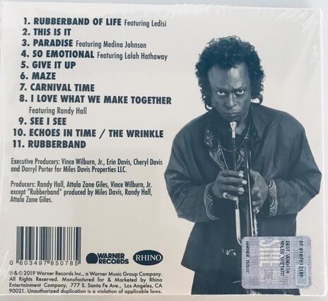 Rubberband - CD Audio di Miles Davis - 2