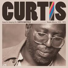 Keep on Keepin' on. Curtis Mayfiled Studio Albums - CD Audio di Curtis Mayfield