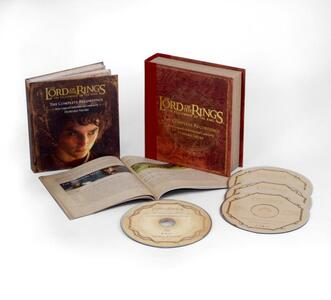 The Lord of the Rings. The Fellowship of the Ring (Colonna Sonora) - CD Audio + Blu-ray di Howard Shore