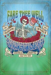 Grateful Dead. Fare Thee Well (2 DVD) - DVD