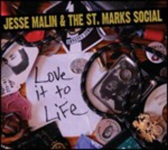 Love it to Life - CD Audio di Jesse Malin,St. Marks Social