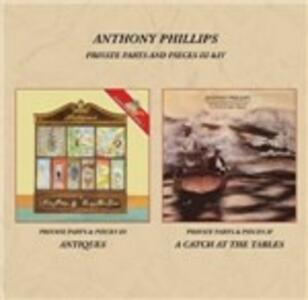 Private Parts and Pieces III & IV - CD Audio di Anthony Phillips