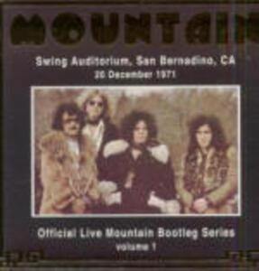 Live at San Bernardino 1971 - CD Audio di Mountain