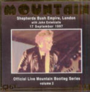 Live at Shepherds Bush Empire, London 1997 - CD Audio di Mountain