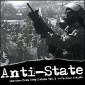 Anti-Statel Anarcho - CD Audio