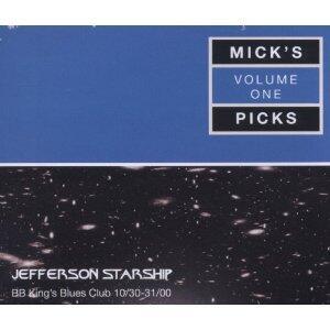 Mick's Picks vol.1: BB King's Blues Club 2000 - CD Audio di Jefferson Starship