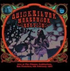 Live at the Filmore Auditorium. San Francisco 6th February 1967 - CD Audio di Quicksilver Messenger Service