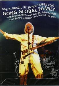 Gong Global Family. Live Brazil 2007 - DVD