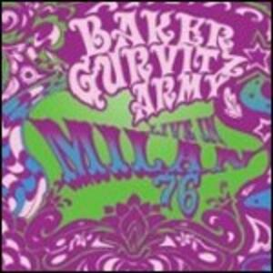 Live in Milan 1976 - CD Audio di Baker Gurvitz Army