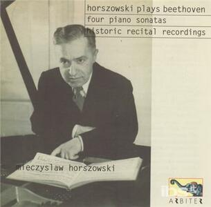Plays Beethoven - CD Audio di Ludwig van Beethoven,Mieczyslaw Horszowski