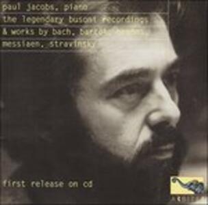 Legendary Busoni Recordin - CD Audio di Ferruccio Busoni