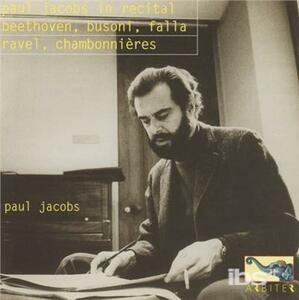 In Recital - CD Audio di Paul Jacobs