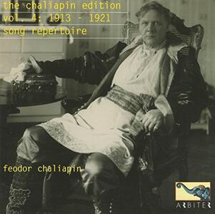 Chaliapin Edition vol.4 - CD Audio di Feodor Chaliapin