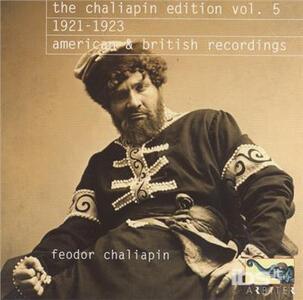 Chaliapin Edition vol.5 - CD Audio di Feodor Chaliapin