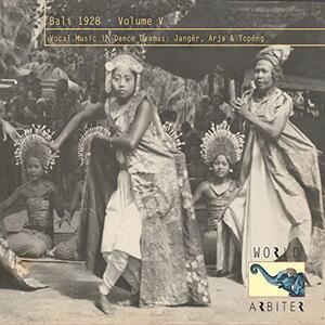 Bali 1928 vol.5 - CD Audio