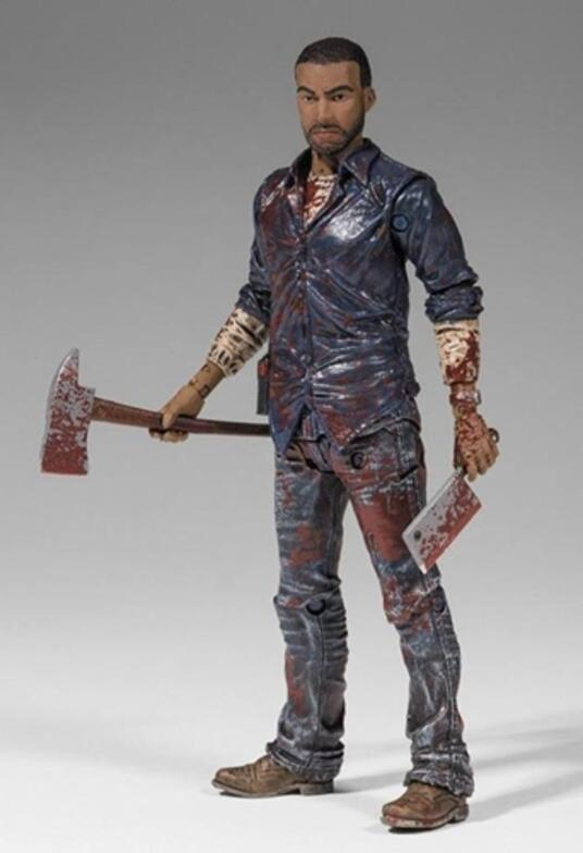 Mcfarlane The Walking Dead Videogame Lee Everett Bloody Action Figure New - 2