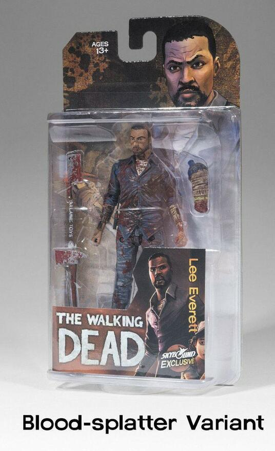 Mcfarlane The Walking Dead Videogame Lee Everett Bloody Action Figure New - 3