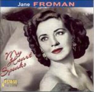 My Heart Speaks - CD Audio di Jane Froman