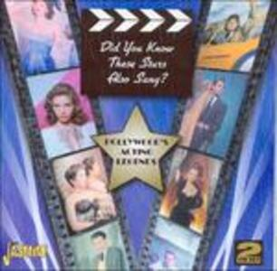 Did You Know This Stars Also Sang? - CD Audio