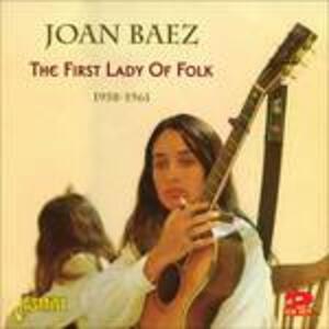 First Lady of Folk - CD Audio di Joan Baez