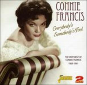 Everybody's Somebody's Foool - CD Audio di Connie Francis
