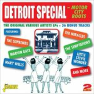 Detroit Special. Motor City Roots - CD Audio